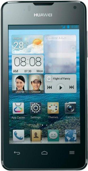 """Huawei™ - Smartphone """"Ascend Y300"""" (4"""" lPS 480x800, 2x1Ghz.,4GB/512MB,Android 4.1,5MP Cam AF/LED) Weiß/Schwarz + 4x Tesafilm ab €86,91 [@Digitalo.de]"""