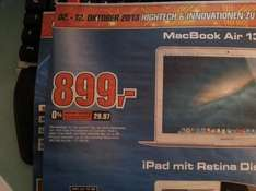 "Saturn Braunschweig - Macbook Air 13"" MD760 Mid2013"