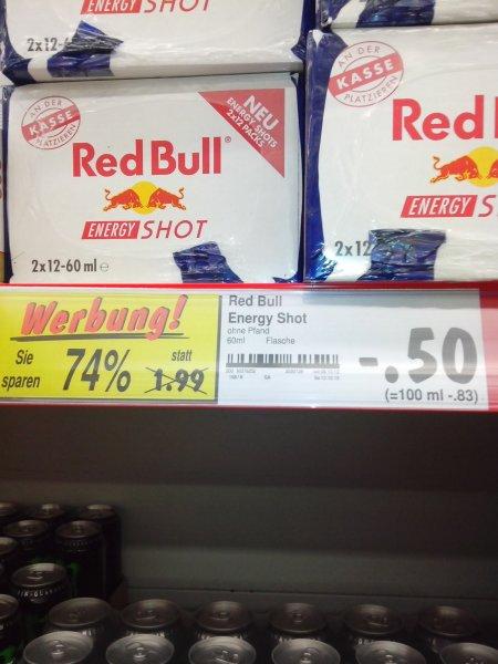 Red Bull Energy Shot Kaufland (Lokal Duisburg Kasslerfeld)