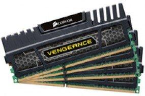 Corsair Vengeance 8 GB (4 x 2GB) DDR3 - 1600 MHz - CL9 - 1.5 V