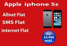 Iphone 5s + VF RED M 34,99€