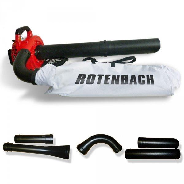 Rotenbach 3 in 1 Benzin Motor Laubsauger 89,90€