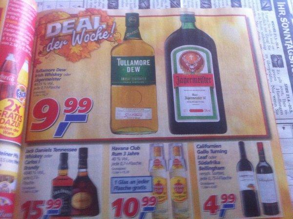 Tullamore Dew 0,7 Liter 9,99€ @real bundesweit