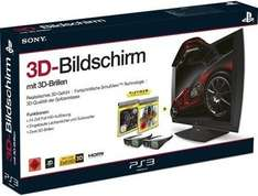 Sony Computer Entertainment 3D Bildschirm + 2x 3D Brillen - inkl. Killzone 3 + Gran Turismo 5 USK 18 @Redcoon