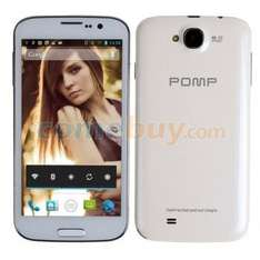 Pomp King 4 - W88 Smartphone, 5 Zoll IPS Display 1280x720, mit 1.2 Ghz Quad-Core MTK6589, Android 4.2 , 4 GB ROM, 1 GB RAM, DUAL-SIM