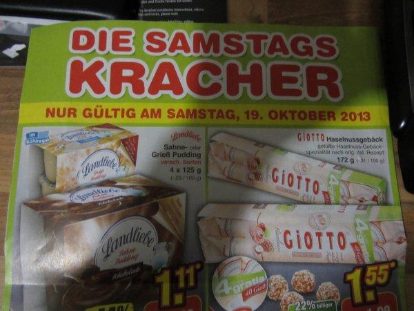 Landliebe Sahnepudding / Grieß  beim Netto nur am 19.10