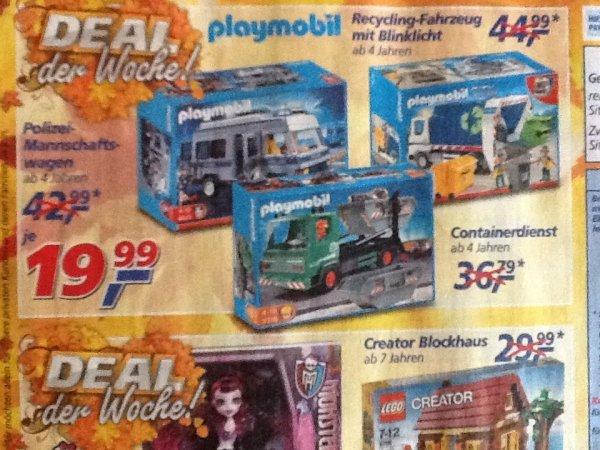 [Real Filiale] - Playmobil Containerdienst 3318 zum Bestpreis