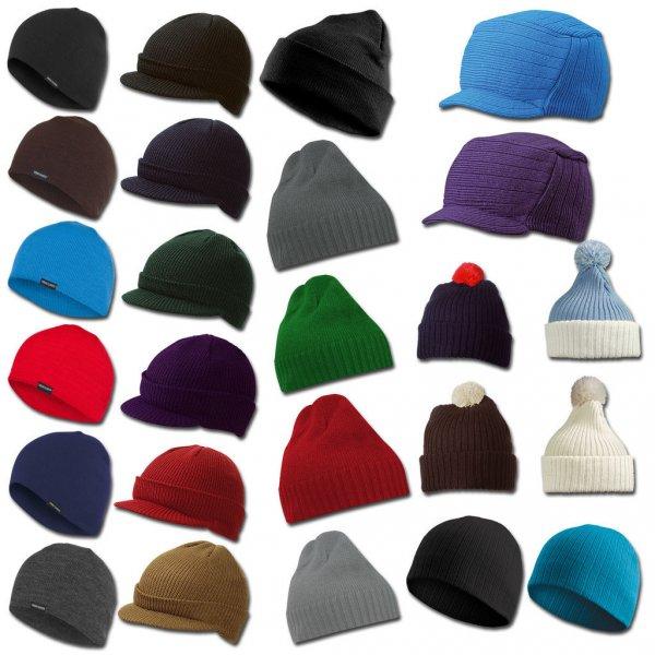 Beanie, Schirm- und Wintermützen in verschiedenen Farben für jeweils 6,90€ bei ebay