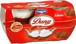 [lokal] Kaufland Stuttgart Danone Dany Sahne 3x 4er Pack mit Coupon für €2,04 (€0,17/je Becher)