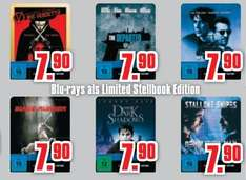 [Lokal] Schossau Mönchengladbach - Neue Warner Limited Edition Blu-ray Steelbooks