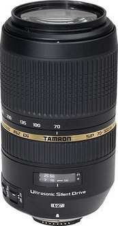 Tamron 70 - 300 mm / F 4,0 - 5,6 SP DI VC USD Canon