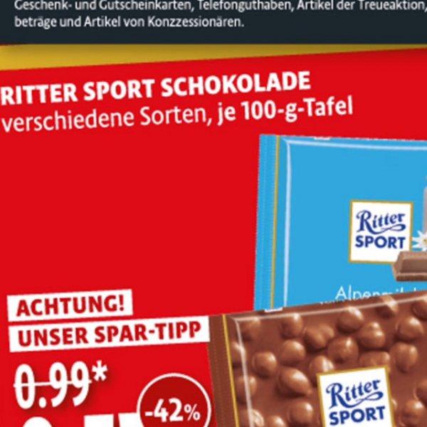 Kaisers Berlin : Ritter Sport nur 0,57 Euro