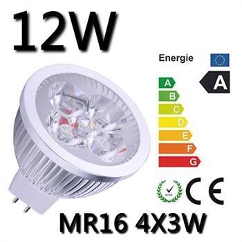 10x 12W Warmweiß GU10 oder MR16 NoName LED für 20,28€!!