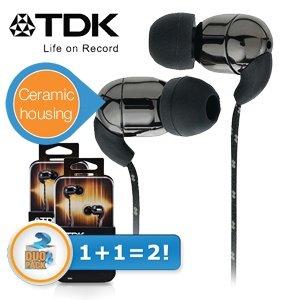 Doppelpack TDK IE500 In-Ears für 19,95€ + 5,95€ Versand @iBOOD