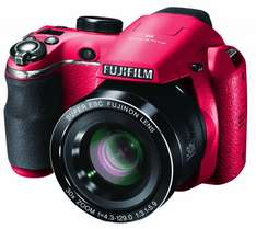 "Fujifilm FinePix S4500 Bridgekamera (14 MP, 30x Zoom, 3"" Display) in rot für 123,55 € @Amazon.co.uk"