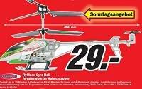 Ferngesteuerter Hubschrauber auf 29€ reduziert! (lokal in Heilbronn)