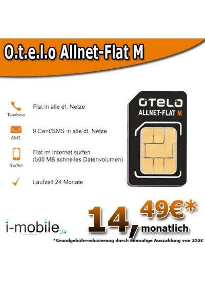 **Otelo Allnet-Flat M für nur 14,49€ **
