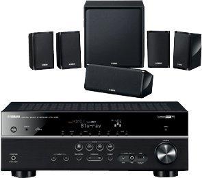 Yamaha yht-498 5.1 Netzwerk-Receiver und Lautsprecher Set @redcoon