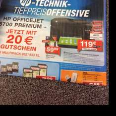 HP Officejet 6700 Premium ggf. 109€