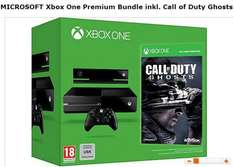Xbox One Premium Bundle inkl. Call of Duty Ghosts  Online / Amazon