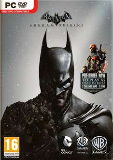 Batman: Arkham Origins inklusive Deathstroke & Batman Legends DLC (Steam) für 25,60 € vorbestellen