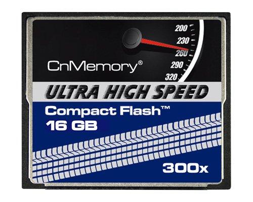 CnMemory Compact Flash Ultra HighSpeed 16GB 300X für nur 18,99 EUR inkl. Versand