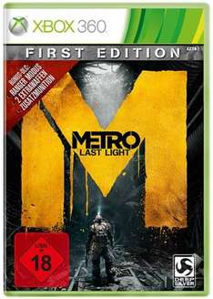 Metro: Last Light - First Edition - 100% uncut - Aktion: Täglich neue Games-Angebote bei Amazon