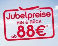 AirBerlin Jubelpreise ab 88 EUR