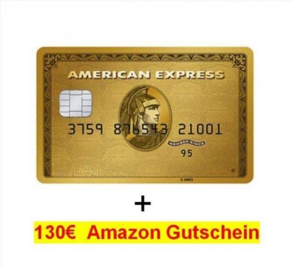130€ Amazon Gutschein + American Express GOLD