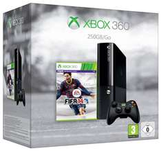 XBOX 360e 250GB (neues Design) + Fifa 14