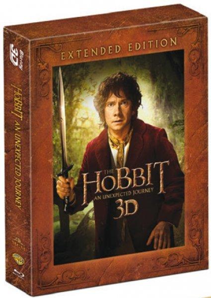 Amazon UK: Der Hobbit Extended Edition in 3D inkl. Versand für ausgezeichnete 17,16 Pfund (ca. 20€) inklusive deutschem Ton