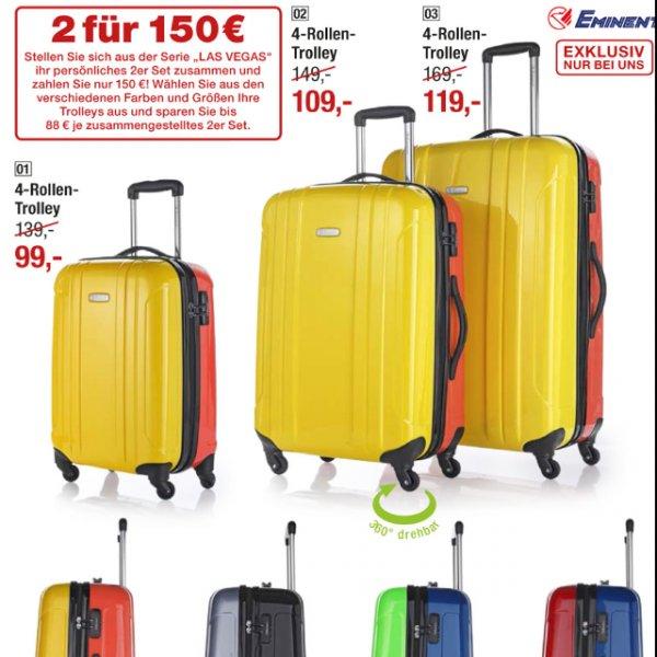 """2x Eminent Trolley """"Las Vegas"""" bei Galeria Kaufhof für 150€"""