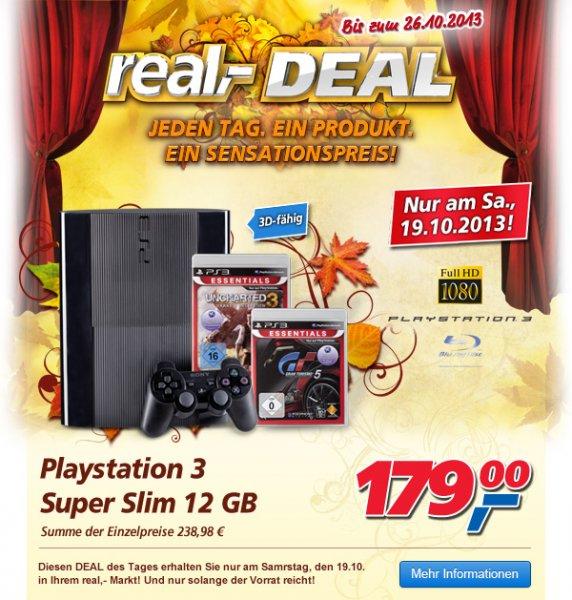 (REAL DEAL nur Sa) Playstation 3 Bundle mit Uncharted 3 + Gran Turismo 5