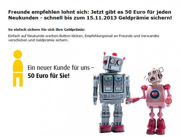 comdirect - doppelte KwK-Prämie von 50€ für einen Neukunden