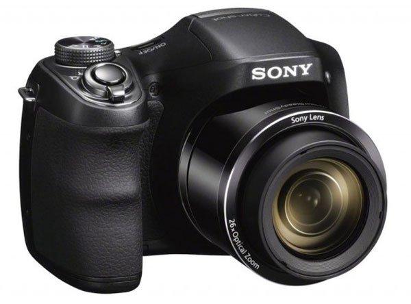 Sony Cybershot DSC-H200 Digitalkamera schwarz mit 24x opt. Zoom (B) ab 109,90 €