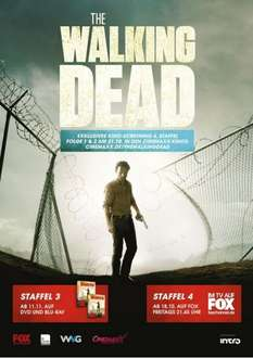 The Walking Dead Staffel 4 Episode 1+2  in ausgewählten CinemaxX Kinos