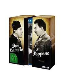 Don Camillo & Peppone Edition [Blu-ray]  für 26,99 € (5 Discs) @ Amazon.de