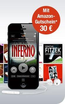[GMX Premium] 30€ Amazon Gutschein für 3 Monatsabo bei Audible (4,95€ pro Monat)