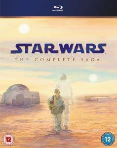 Star Wars The Complete Saga auf Blu-Ray (ohne dt. Tonspur)