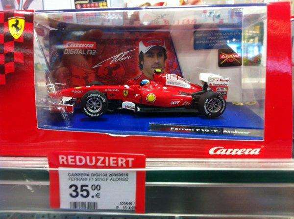 [lokal] Müller Aachen: Carrera Digital 132 F1 Fernando Alonso 2010