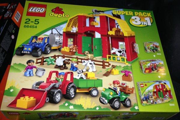 [Interspar Österreich] LEGO Duplo 66454- Super Pack 3 in 1 Großer Bauernhof 5649,5647,5645 & Lego Technic