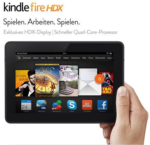 """Das neue Kindle Fire HDX 7"""" oder 8,9"""" Tablet Jetzt vorbestellen"""