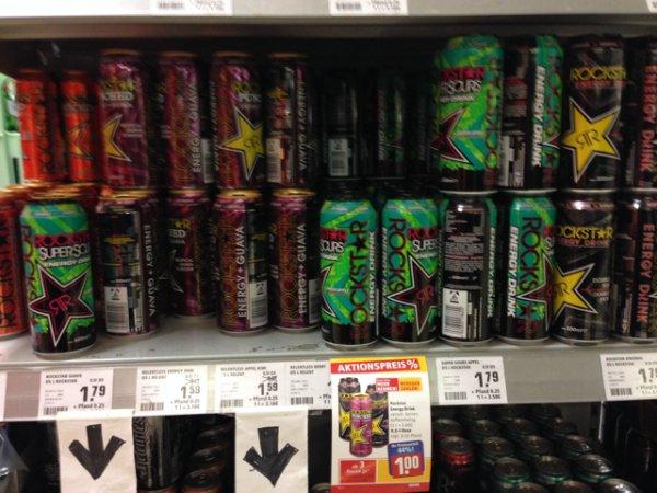 Rockstar Energy Drink, 1€ anstatt 1,79€ Rewe Lüdenscheid [lokal?]