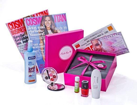 Pink Box mit Kosmetik & Drogerieartikeln für ~7,95€ inkl. Versand