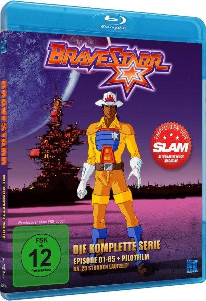 [Blu-ray]  Bravestarr - Gesamtedition [ alle 65 Folgen ] + (inkl. Die Legende) inkl. Versand für 14,99 EUR @Amazon.de