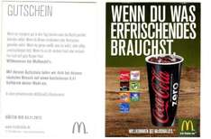 [MC Donalds] Gratis 0,4 l Softdrink