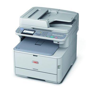 OKI MC342dnw, Farblaser-Multifuntionsgerät (Drucker/Fax/Scanner/Kopierer) + WLAN