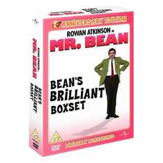 (UK) Mr Bean: Bean's Brilliant Box Set (Digitally Remastered 20th Anniversary Edition) [4 x DVD] für 9.45€ @ Play (zoverstocks)