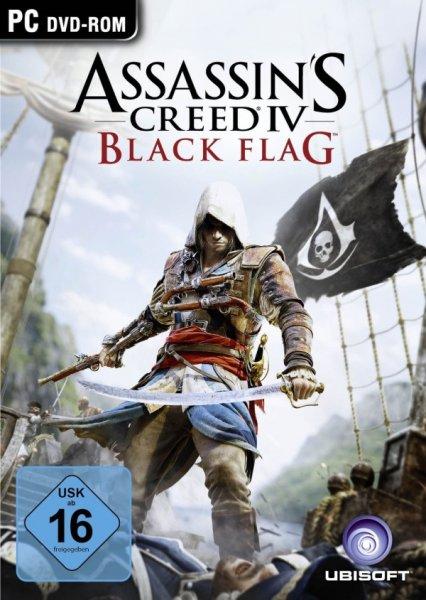 Assassin's Creed 4 - Black Flag (PC Version) auf MMOGA für sehr gute 34,99€ vorbestellen