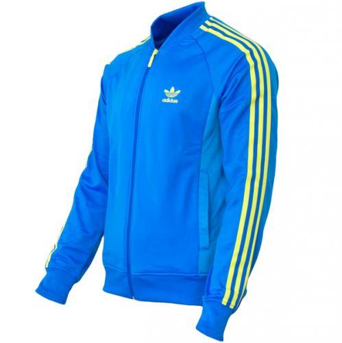 Adidas Superstar TT Jacke bluebird-fresh blue